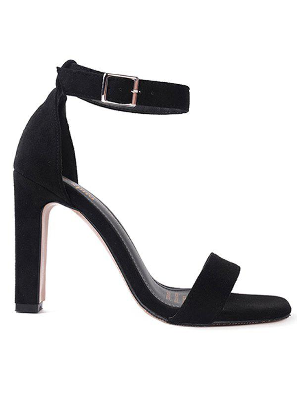 One Strap High Heel Open Toe Sandals woman high heels sandals gold chains sandals lady high heels sandals sexy open toe pumps cut outs dress nightclub shoes b160