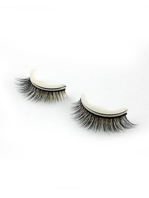 Pair of Handmade Reusable Volumizing Glue Free False Eyelashes - 002