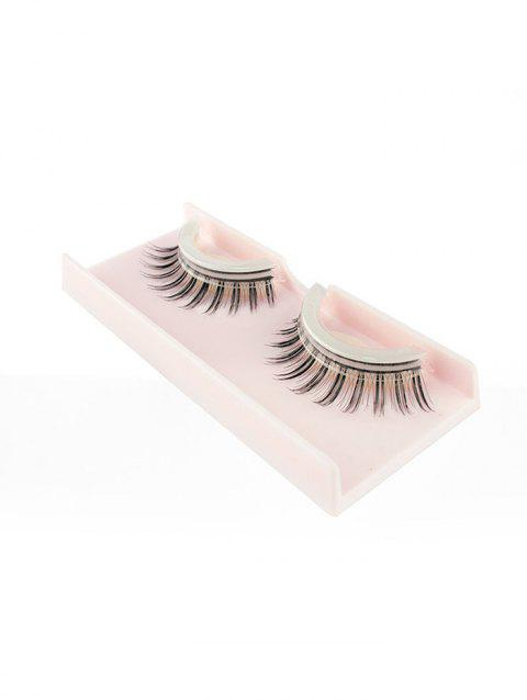 Pair of Handmade Reusable Volumizing Glue Free False Eyelashes - 005