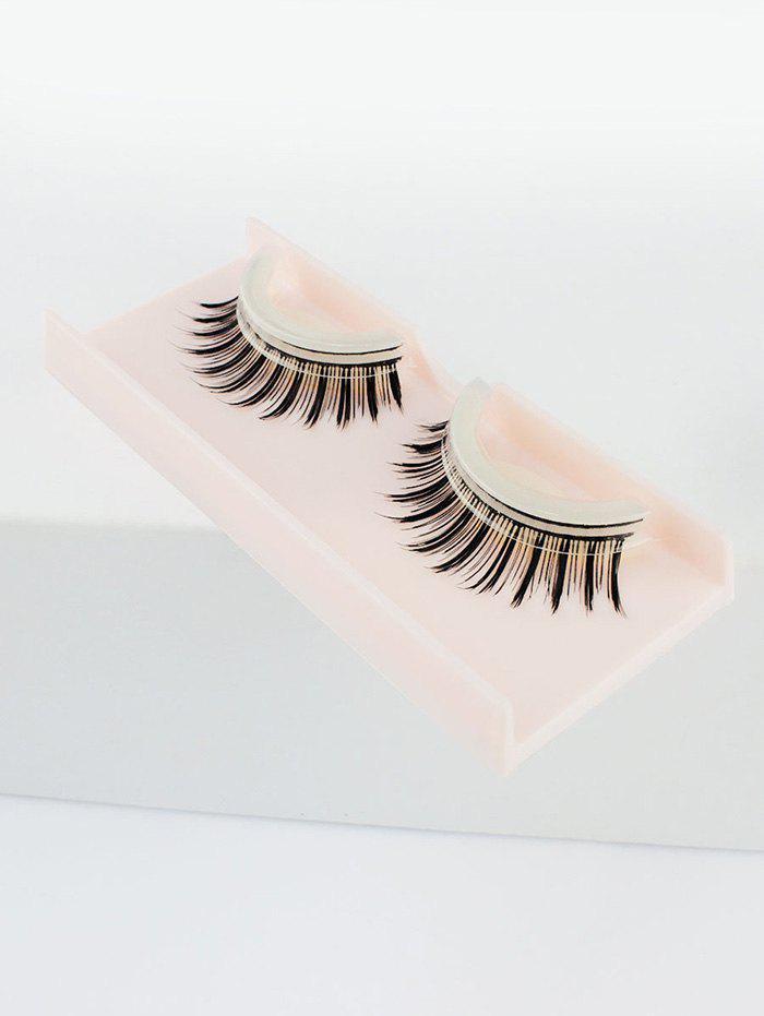 Pair of Handmade Reusable Volumizing Glue Free False Eyelashes очки для плавания atemi силикон бел син n9102m