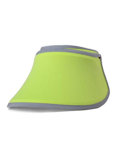UV Protection Open Top Wide Brim Summer Hat - AVOCADO GREEN