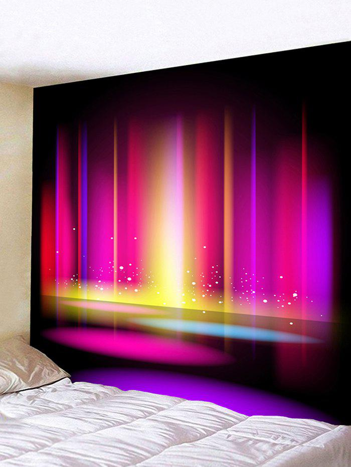 цены Colorful Lights Printed Tapestry Wall Art