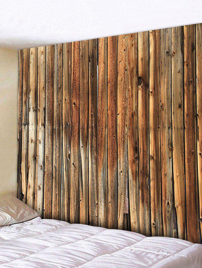 Vertical Original Wood Grain Print Tapestry - WOOD W71 INCH * L71 INCH