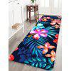 Home Decor Blooming Flowers Print Floor Mat - multicolor W16 INCH * L47 INCH