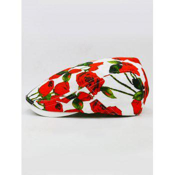 Romantic Rose Breathable Ivy Hat - WHITE
