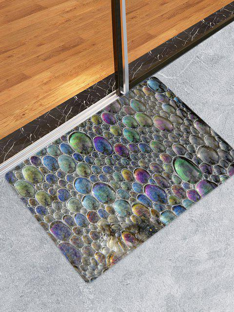 Sea Forths Pattern Anti-skid Floor Area Rug - multicolor W20 INCH * L31.5 INCH