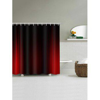 Stage Curtain Print Waterproof Shower Curtain - RED W71 INCH * L79 INCH