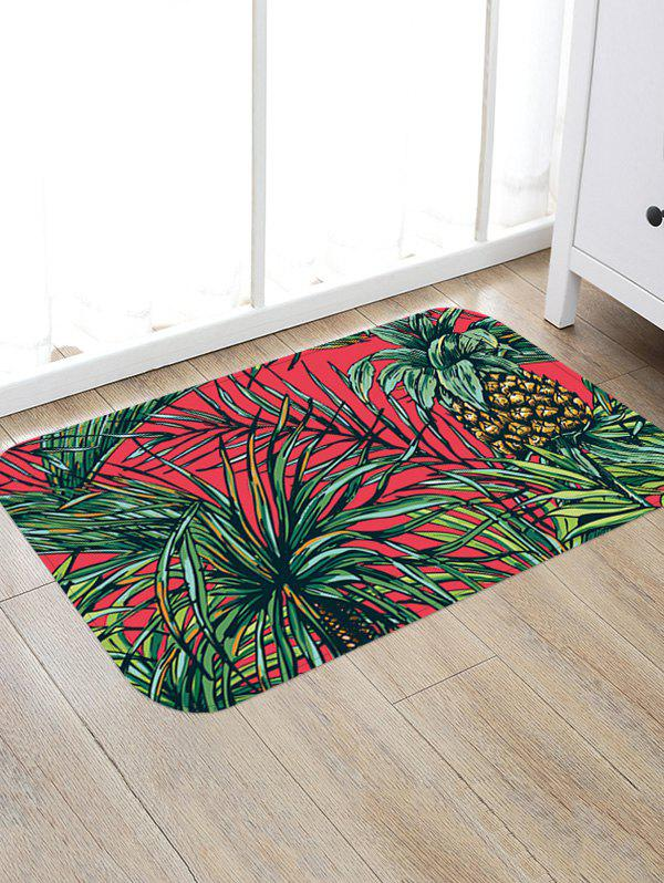 Leaves Pineapple Print Floor Area Rug бриджи joma joma jo001emefw37