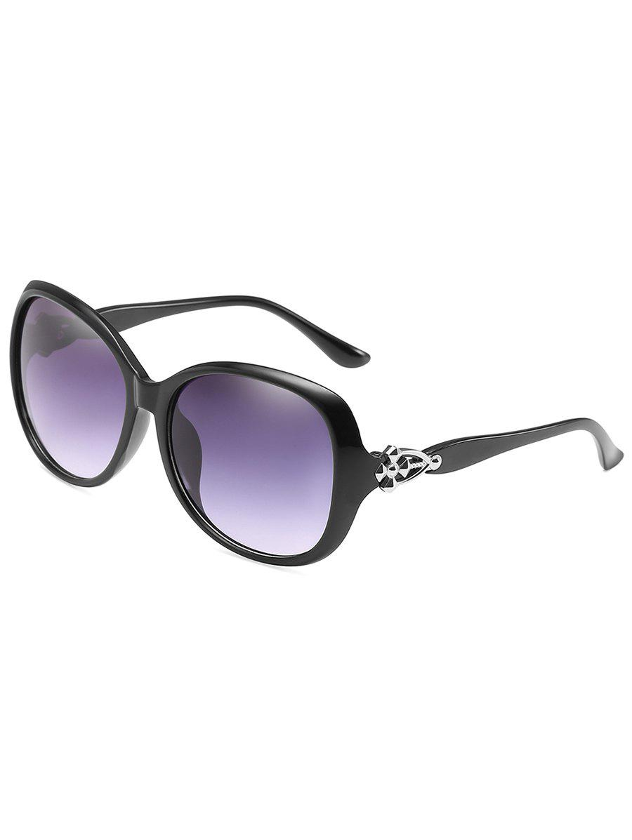 Anti Fatigue Full Frame Butterfly Sunglasses - BLACK