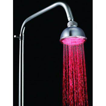 LED Multi-color Rainfall Shower Head - multicolor 10*10CM