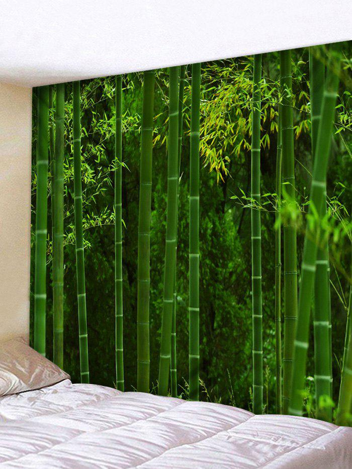Bamboo Forest Print Tapestry Wall Art Decor wall hanging art decor bamboo forest print tapestry