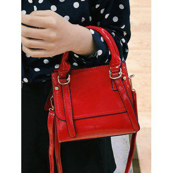Leisure Shopping Minimalist Handbag - RED