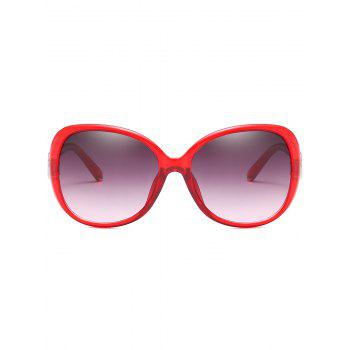 UV Protected Lenses Butterfly Sunglasses - CHILLI PEPPER