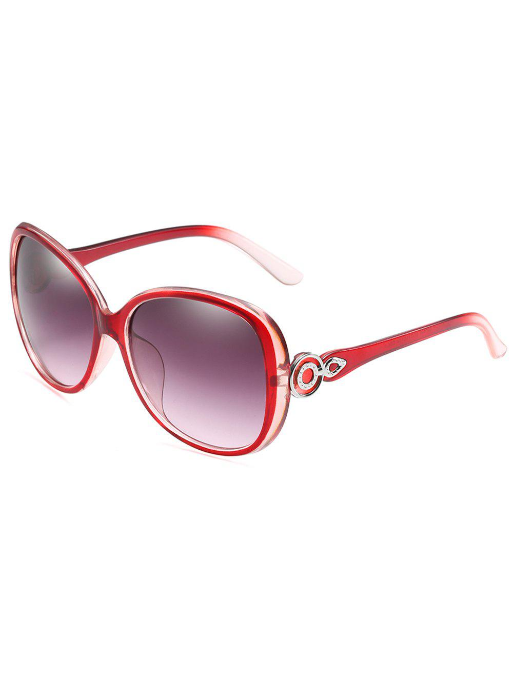 UV Protected Lenses Butterfly Sunglasses - LOVE RED