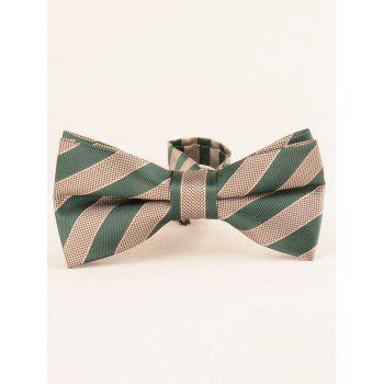 7CM Width Business Necktie and Bowtie Set - VENOM GREEN