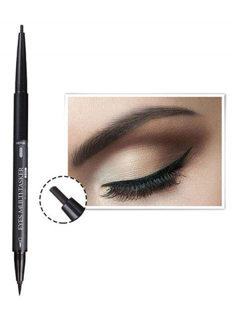 Multifunctional 3 in 1 Long Wear Liquid Eyeliner Eyebrow Pen - multicolor B