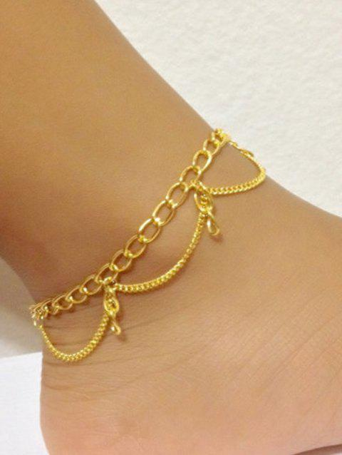 Minimalist Foot Jewelry Beach Anklet - GOLD