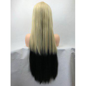Long Side Bang Colormix Straight Cosplay Synthetic - multicolor