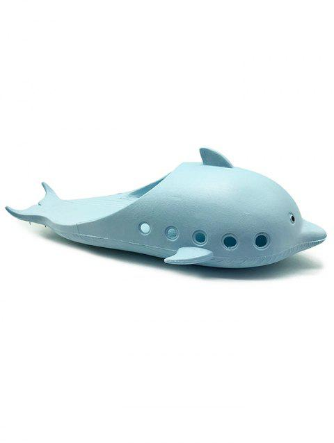 Dolphin Shape Anti Slip Swim Slippers - BLUE 39