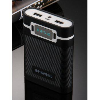 Dresslily coupon: Portable LED Display Double USB Rechargeable Mobile Power Bank Shell Box