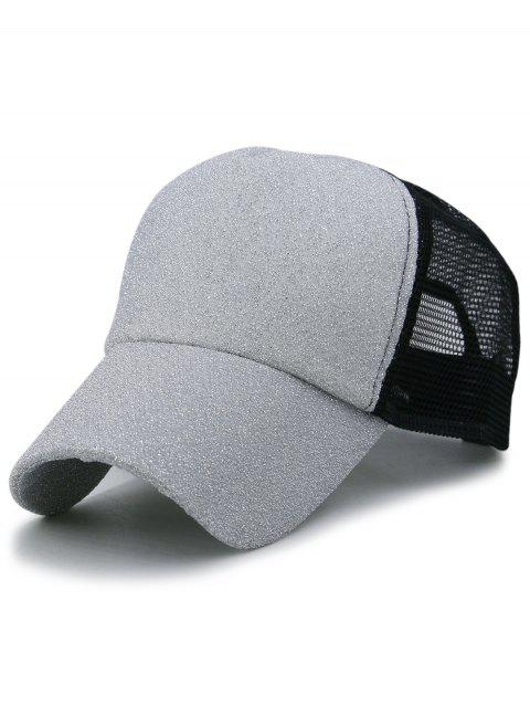 LIMITED OFFER  2019 Solid Color Glitter Sparkle Baseball Cap In ... ce479f5e2533
