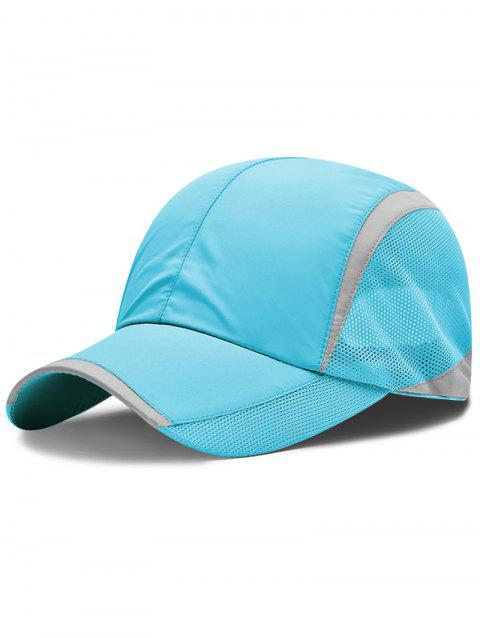 LIMITED OFFER  2019 Solid Color Breathable Mesh Graphic Hat In DEEP ... 4488b4cd04e1