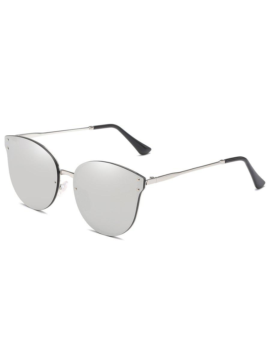 Anti Fatigue Metal Frame Flat Lens Catty Sunglasses игрушка сима ленд раздели на части 7 105403