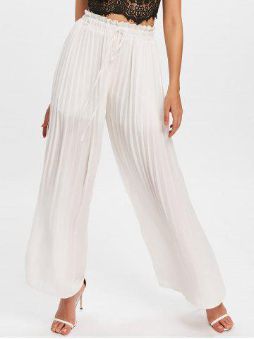 89a26c52fbd 2019 White Palazzo Pants Online Store. Best White Palazzo Pants For ...