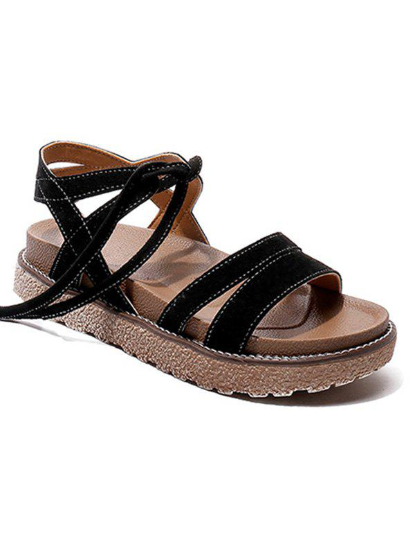 Lace Up Low Heel Casual Sandals lace up low heel casual sandals