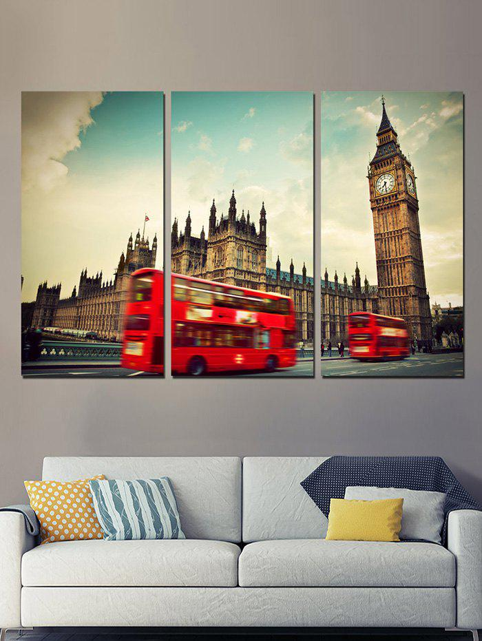 London Bus Print Unframed Split Canvas Paintings bus zadar split