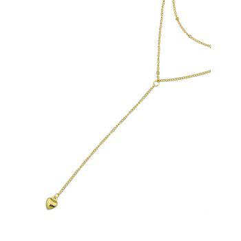 Alloy Chain Layered Necklace - GOLD