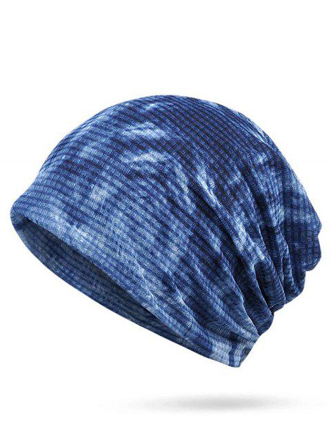 Lightweight Gradient Color Slouchy Beanie - SAPPHIRE BLUE