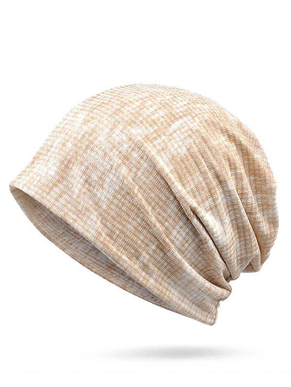 Lightweight Gradient Color Slouchy Beanie - BEIGE