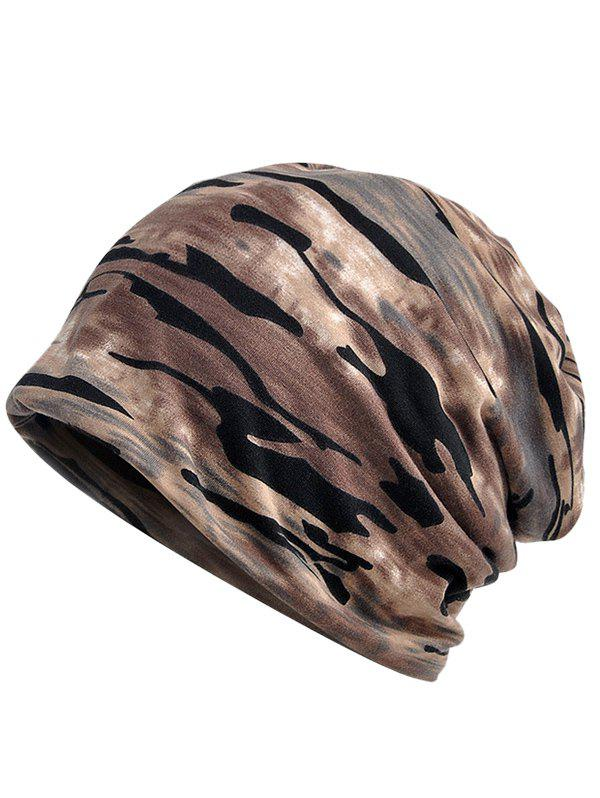 Outdoor Camouflage Pattern Baggy Beanie 50pcs cheap heather slouch beanie caps mens winter knitting baggy skull hats women knitted beanies new oversized skullies cap