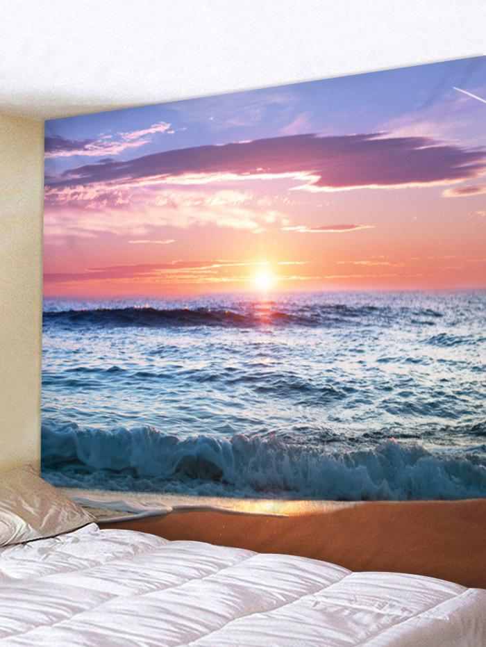 Sunset Beach Printed Wall Hangings Tapestry Art все цены