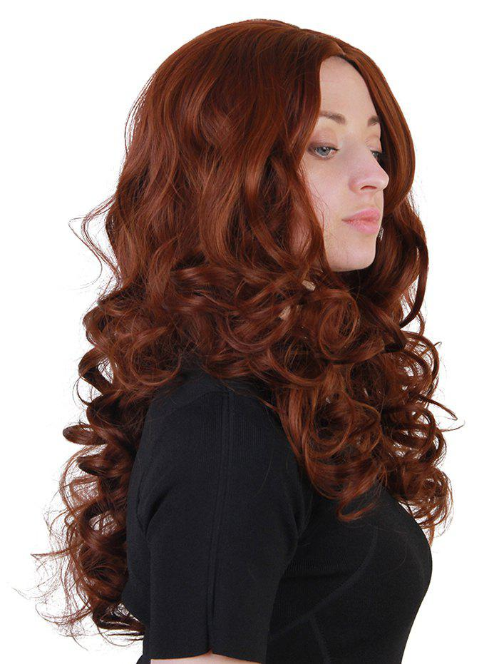 Long Middle Part Loose Wave Synthetic Wig - SIENNA