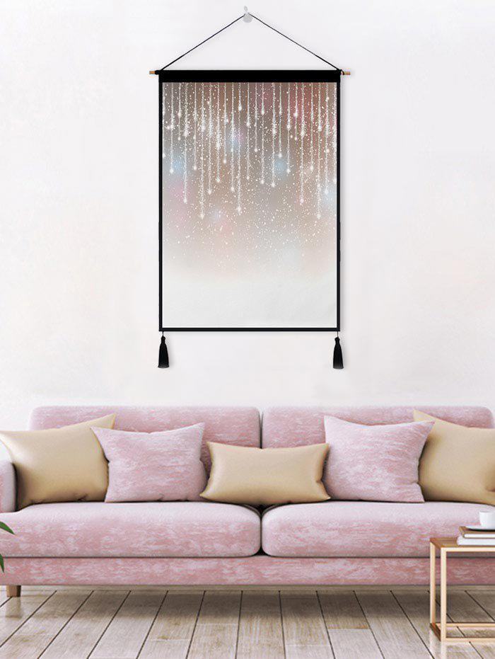 Lamplight Print Tassel Wall Art Hanging Painting - CINNAMON 1PC:18*26 INCH(NO FRAME)