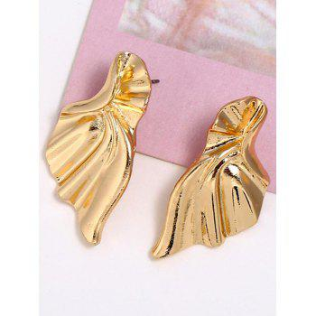 Alloy Wings Personality Stud Earrings - GOLD
