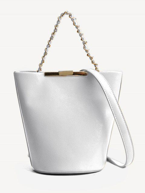 City Style Stylish Shoulder Bag - WHITE