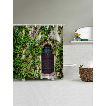 Creepers House Print Waterproof Shower Curtain - multicolor W71 INCH * L79 INCH