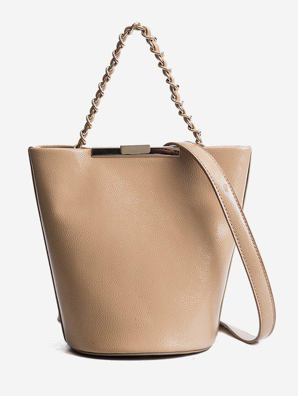 City Style Stylish Shoulder Bag - LIGHT KHAKI