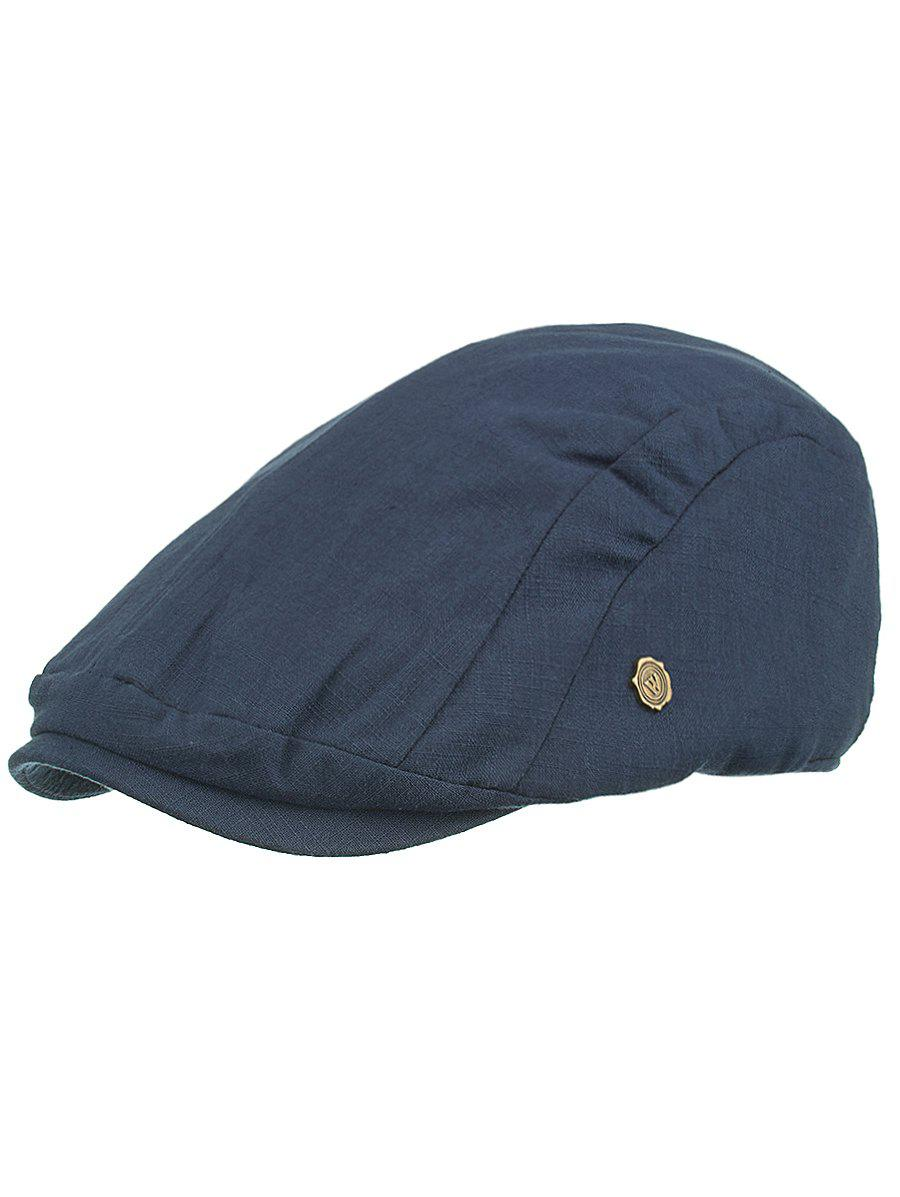 Outdoor Metal M Decorative Cabbie Hat - DEEP BLUE