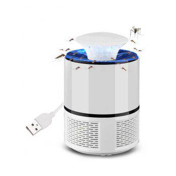 USB Household Radiationless Photocatalysis Safety Mosquito Killer Lamp - WHITE