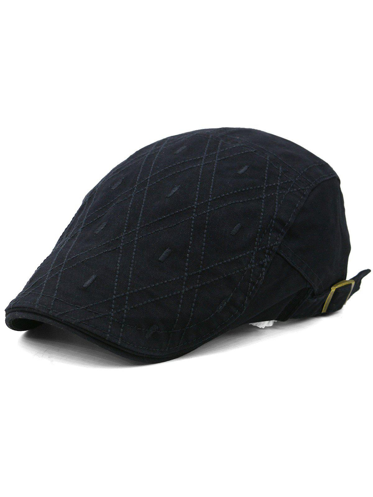 Outdoor Rhombus Embroidery Cabbie Hat цена 2017