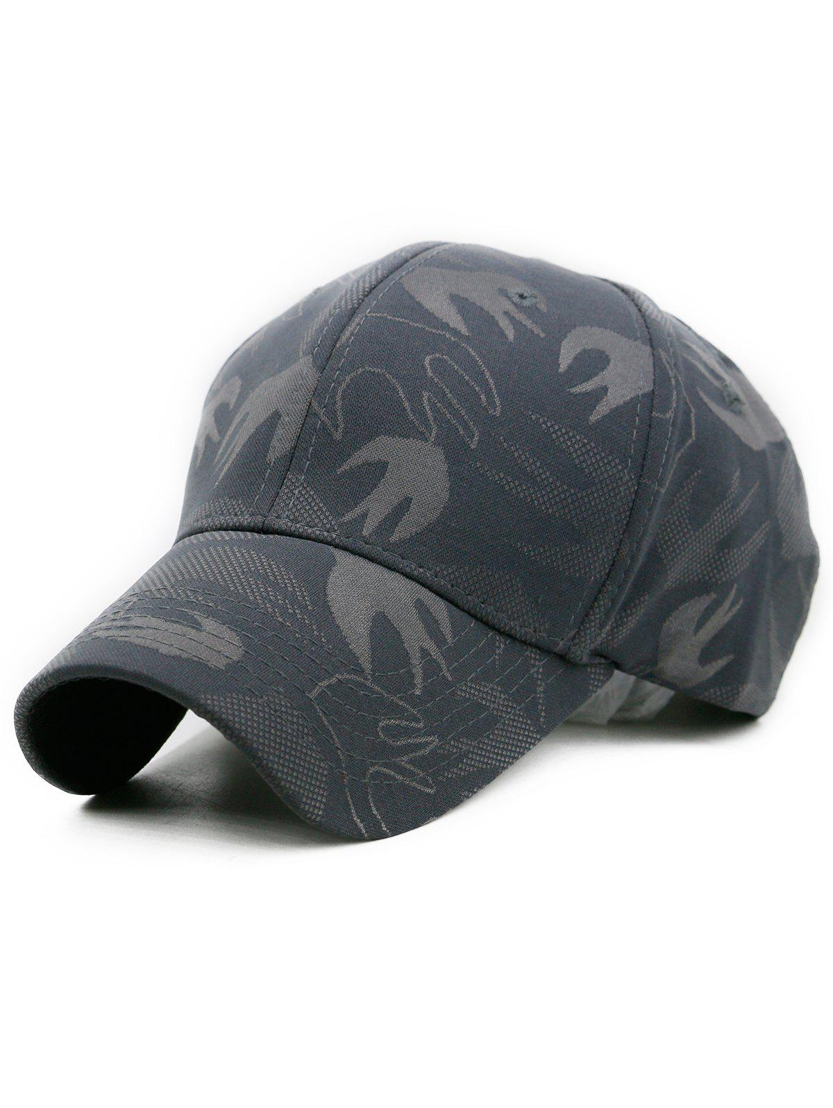 Outdoor Solid Color Adjustable Sunscreen Hat - GRAY
