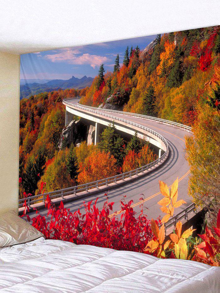 Highway through Forest Print Tapestry Wall Hangings все цены