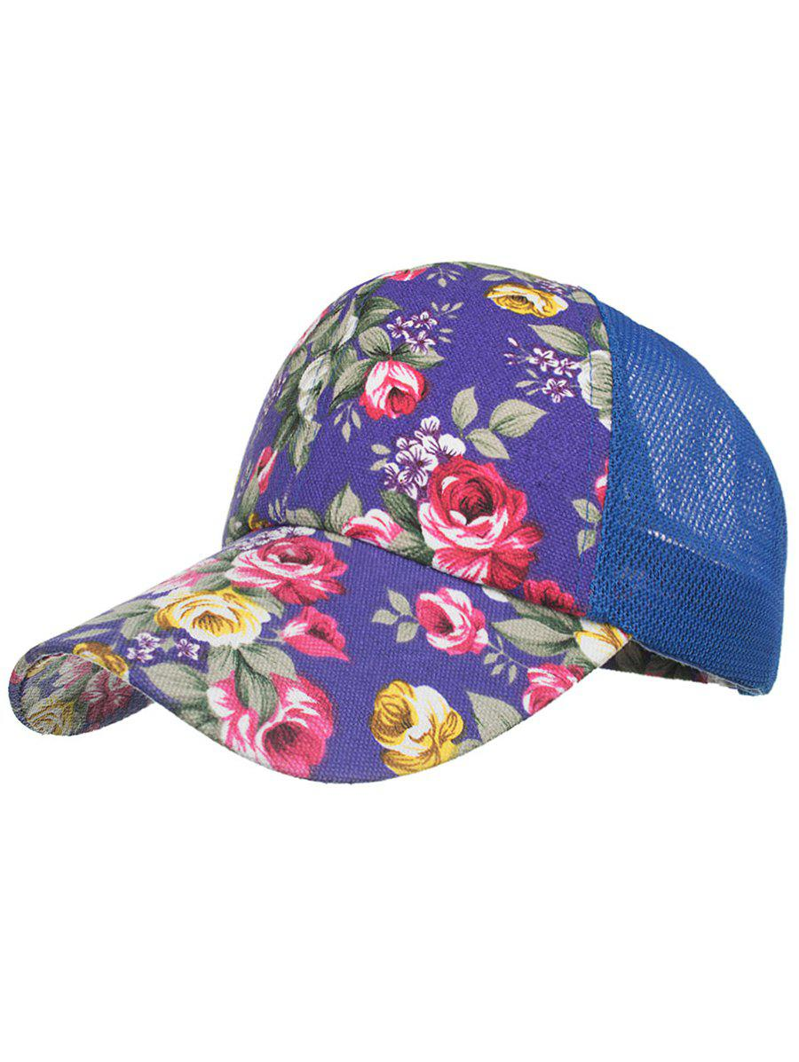 Flourishing Floral Decorative Hip Hop Hat unisex men women m embroidery snapback hats hip hop adjustable baseball cap hat