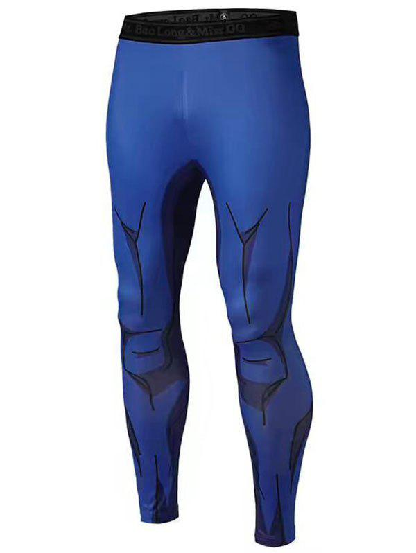 3D Muscle Printed Compression Tights Pants quality creative 3d muscle man pattern printed apron