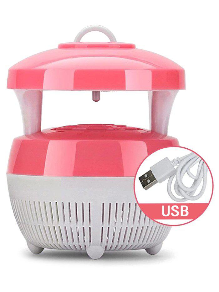 USB Suction Radiationless Photocatalysis Household Mosquito Killer Light - DEEP PINK