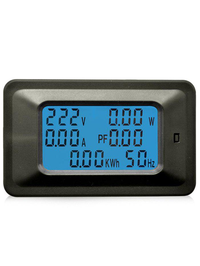 20A LCD Display Volt Current Watt Kwh 6 in 1 Combo Power Meter 20a power monitor module ac meter panel
